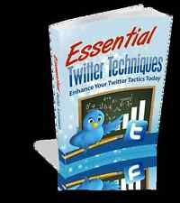 Essential Twitter Techniques; Enhance Your Tactics Today; Business Success (CD)