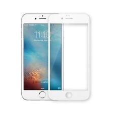 iPhone 7 PLUS FULL COVER 3D PANZERGLAS Panzerfolie White Weiß 4D SCREEN Weiss