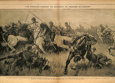 Cossacks Imperial Russia Army Dragoons Deutsches Heer Cosaques Dragons 1917 WWI