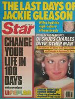Star Magazine July 7 1987 - Last Days of Jackie Gleason - Princess Diana