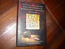 Songs of Love and Death Gardner Dozois George RR Martin 1st signed