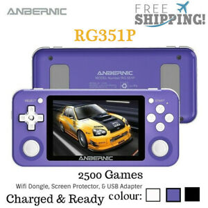 Anbernic RG351P Handheld Retro Video Game Console 2500 Games Open Source
