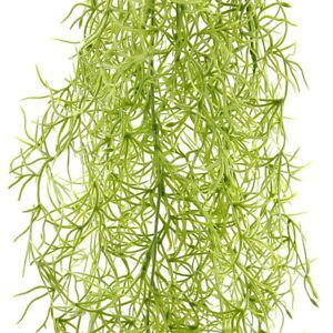 Tillandsien Hänger h.-grün, 80cm Länge, 3 üppig Triebe, Kunststoff !!!