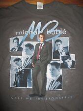 "2008 MICHAEL BUBLE ""Call Me Responsible"" Concert Tour (MED) T-Shirt"