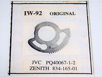 IDLER WHEEL / IW92 / JVC PQ40067-1-2 / ZENITH 834-165-01 / VCR / 1 PIECE (qzty)