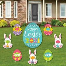 Big Dot of Happiness Quarantine Easter - Yard Sign and Outdoor Multicolored