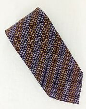 "Gucci Silk Made In Italy Horse Bit Tie Authentic. 3-3/4"". NWOT."