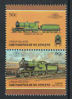 UNION ISLAND LOCO 100 CLASS D15 LOCOMOTIVE UK STAMPS MNH