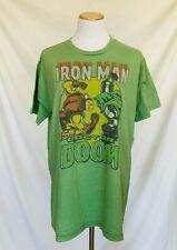 2008 T-Shirt Vintage Style Iron Man Vs Doctor Doom Marvel Comics Junk Food Large