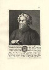 BERNI FRANCESCO LAMPORECCHIO PISTOIA POETA BERNESCO STAMPA ORIGINALE 1700