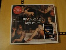Purcell - Dido & Aeneas CD Harmonia Mundi SEALED Rene Jacobs