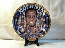 "Alonzo Mourning NBA Sports Impressions Gold Edition 10.25"" Collector Plate #515"
