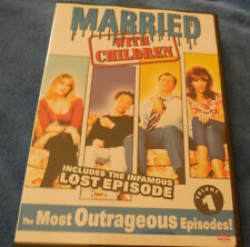 Married With Children Volume 1 One INCLUDES THE INFAMOUS LOST EPISODE
