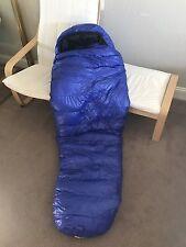 Western Mountaineering Ultralitte 20 Degree Sleeping Bag, Blue, 6'LZ