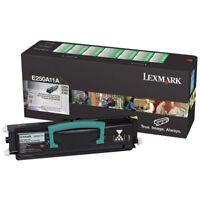 Genuine Lexmark E250A11A Black Return Program Toner Cartridge