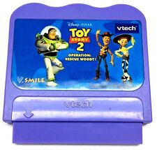 Vtech V Smile Disney's Toy Story 2 Operation Rescue Woody Game Cartridge Childs