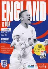 England v Usa. Wayne Rooney Foundation International. Mint programme