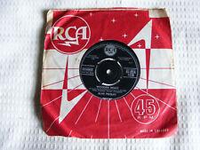 "Elvis  Presley  Wooden  Heart  1960 Original  7"" / Tonight  Is So Right For Love"