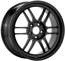 "ENKEI RPF1 Wheel 18x10.5"" 5x114.3 +15mm BLACK Rim for EVO 350Z 379-8105-6515BK"