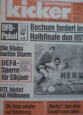 Kicker 1988 , Nr.21 , VfL Bochum , HSV im Halbfinale