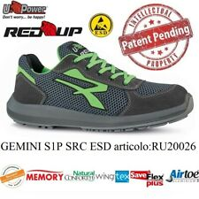 UPOWER SCARPE LAVORO ANTINFORTUNISTICA GEMINI S1P SRC ESD U-POWER RU20026 RED UP