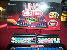 1984 UNO WILD TILES BOARD GAME BY INTERNATIONAL GAMES COMPLETE