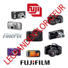 Ultimate  Fujifilm Finepix Camera  Parts Repair Service manual Collection on DVD