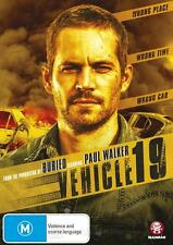 EX RENTAL VEHICLE 19 DVD PAUL WALKER NAIMA MCLEAN ACTION DRAMA THRILLER REG 4