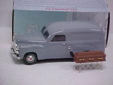 MODIFIED MINT & BOXED 1/25 scale - Holden FJ Panel Van Hearse (grey) w/casket