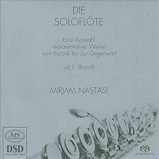 The Solo Flute: Vol 1 Baroque (SACD), New Music