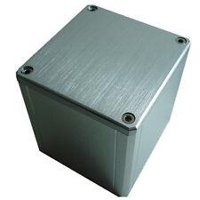 Silver Aluminum Vintage Output Transformer Protect cover enclosure  84*80*91mm