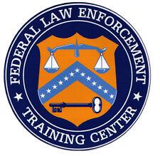 FLETC - Federal Law Enforcement Training Center Decal, Police, Federal Agent