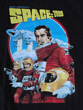 Shirt space 1999-base lunaire Alpha 1-Gerry Anderson-sci. - fi. - culte-NEUF!!!