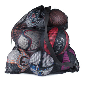 Sports Ball Bag Drawstring Mesh - Extra Large Professional Equipment