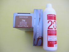 TWO 7N MATRIX SOCOLOR HAIRCOLOR PLUS ONE 16oz DEVELOPER NEW!