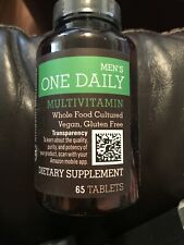 Best By 4/9/2020 - Amazon Elements Men's One Daily Multivitamin - 65 Tablets