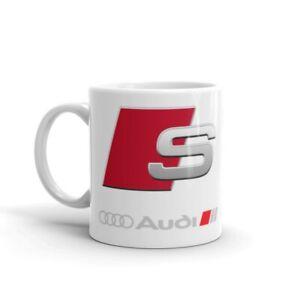 audi s line sport car gift 11oz ceramic mug