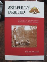 Skilfully Drilled History of the Australian Army Instructional Corps new book