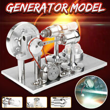 Hot Air Stirling Engine Model Power Generator Motor Educational Steam Power Toy