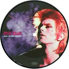 "David Bowie John I'm Only Dancing  7"" vinyl picture disc New & Sealed RSD"
