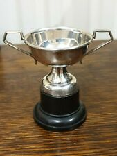 antique silver plate small TROPHY