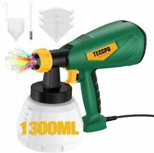 TECCPO TAPS02 Pistolet à Peinture Électrique avec Рécipient Аmovible de 1300ml