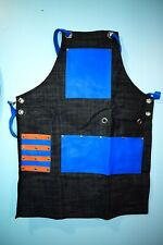 Professional Barber Apron Leather Pocket Barber Apron Hair Cutting Tools