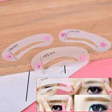 3Pcs/Set Eyebrow Mold Makeup Cosmetic Tools Thrush Card Artifact Aid Accessories