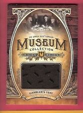 1890 - 1910 GAMBLER'S VEST RELIC CARD 2013 GOODWIN CHAMPIONS MUSEUM COLLECTION