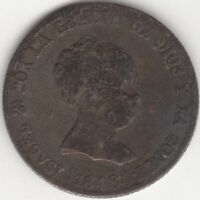 1848 CL Spain Isabel II Silver 4 Reales | European Coins | Pennies2Pounds