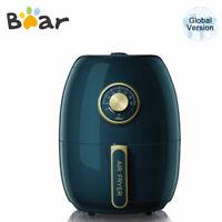 BEAR Air Fryer Elektrische Heißluftfritteuse 3 Liter 1500W Schwarzes Küchenkochb
