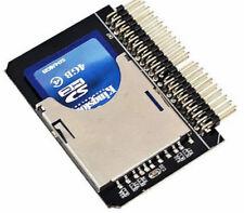 "Zs- Adattatore convertitore lettore SD SDHC MMC CARD a 2.5"" 44 Pin IDE M"