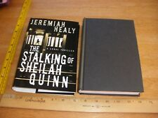 The Stalking of Sheilah Quinn by Jeremiah Healy HC/DJ 1st Edition 1st Print