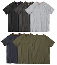 Carhartt Men's Force Cotton Delmont Short Sleeve T-Shirt Relaxed Fit CT100410